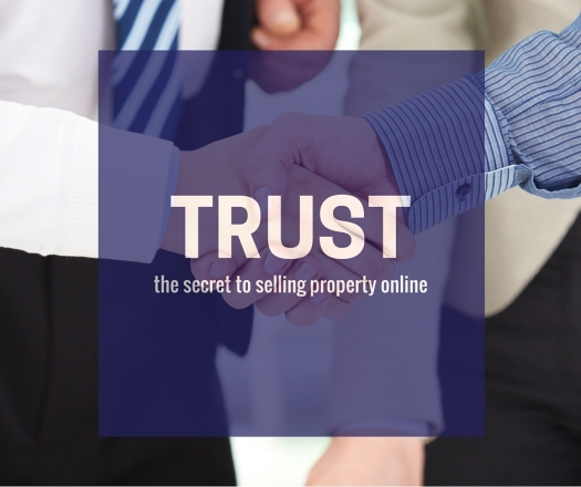 Trust - the secret to selling property online